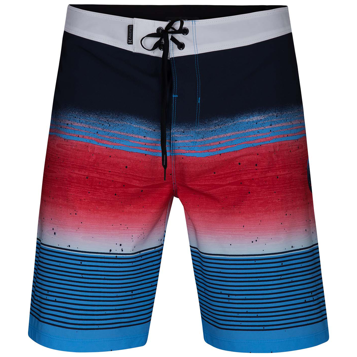 "Hurley Young Men's Phantom Overspray 20"" Board Shorts - Blue, 32"