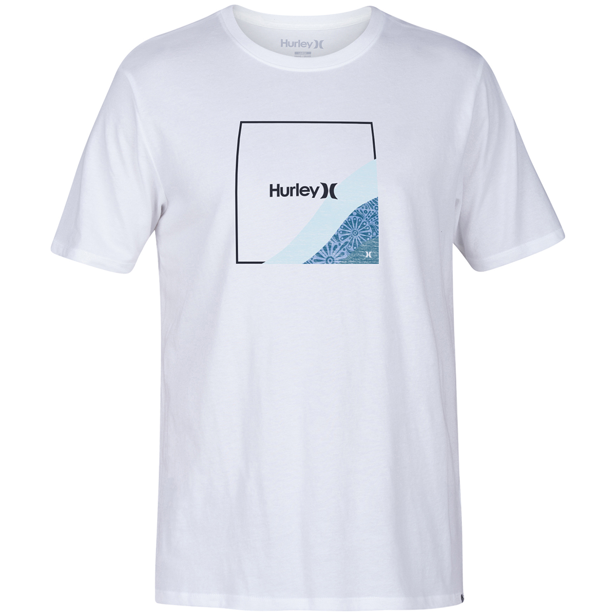 Hurley Young Men's Fader Short-Sleeve T-Shirt - White, M