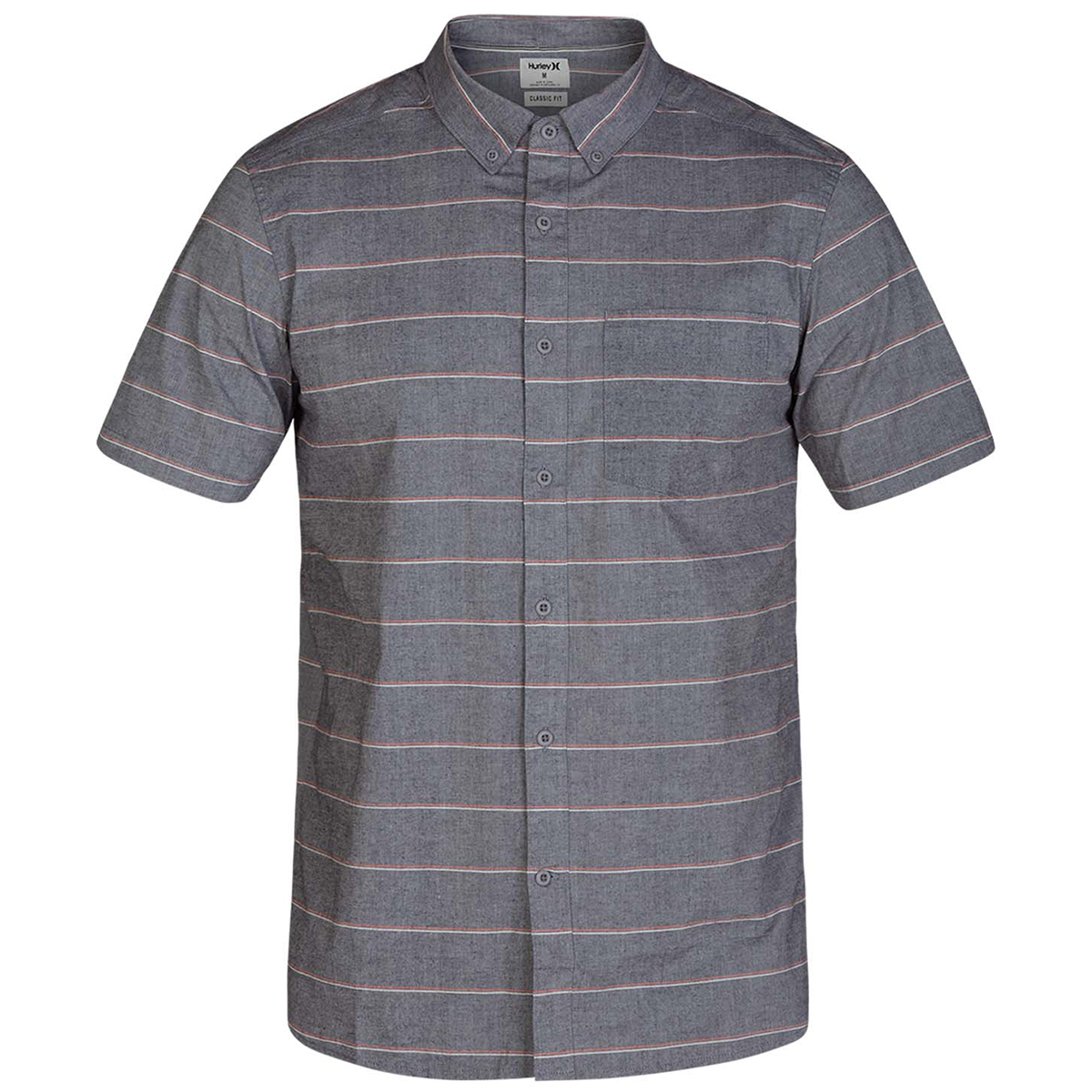 Hurley Men's Keanu Short-Sleeve Shirt - Black, L