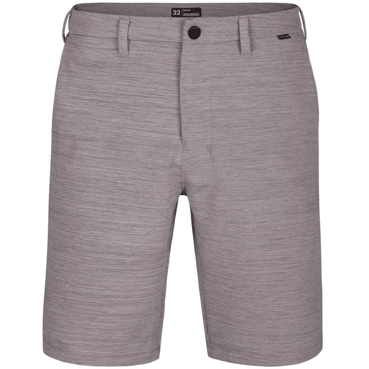 Hurley Young Men's Dri Fit Cut Back Shorts - Black, 30