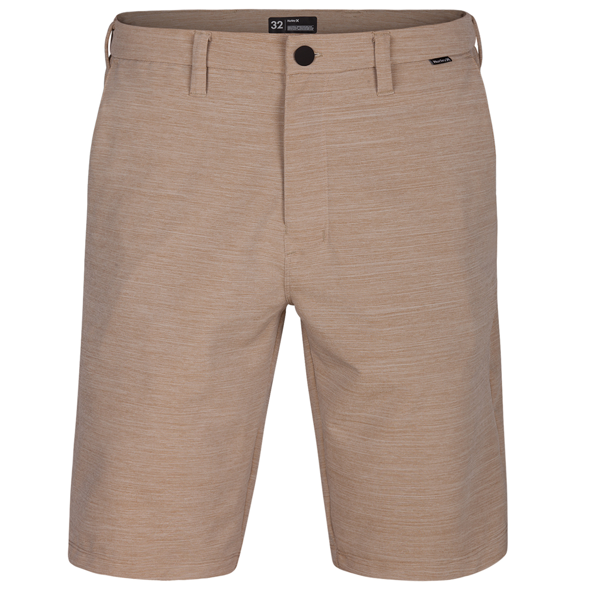 Hurley Young Men's Dri Fit Cut Back Shorts - Brown, 32