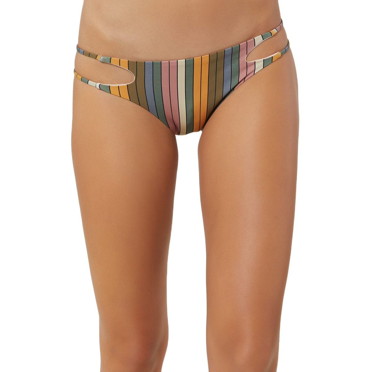O'neill Juniors' Lora Trip Bikini Bottom - Various Patterns, L