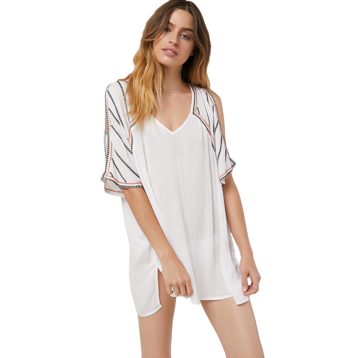 O'neill Juniors' Fran Cover-Up - White, S