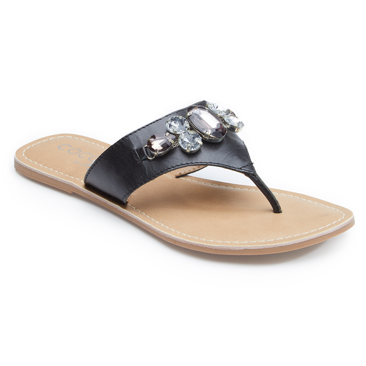 Matisse Footwear Women's Coconuts Bambam Thong Sandals - Black, 8