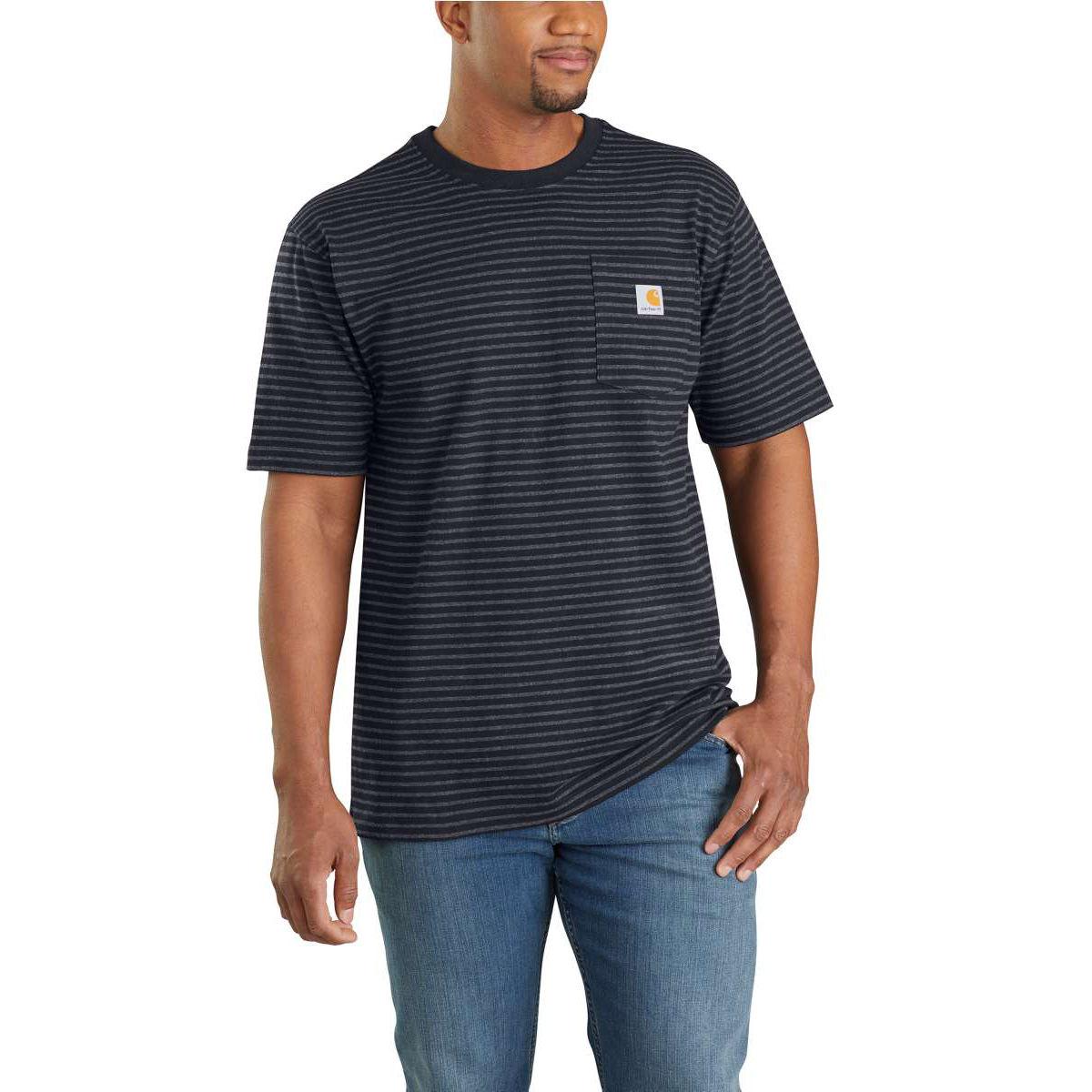 Carhartt Men's Workwear Pocket Short-Sleeve Tee - Black, XXL