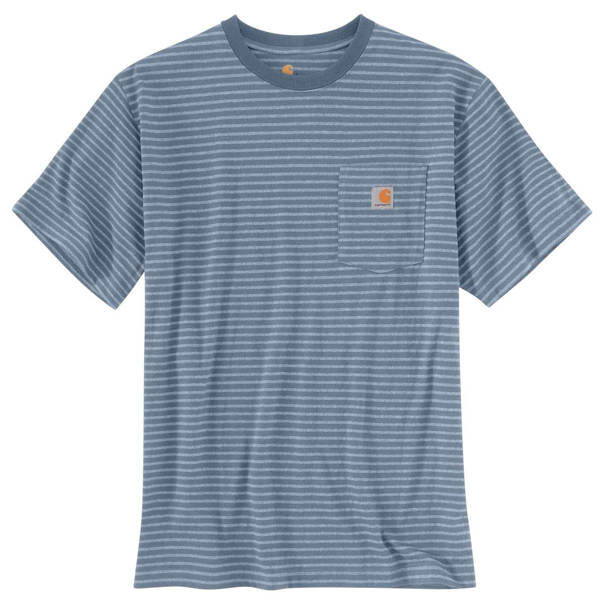 Carhartt Men's Workwear Pocket Short-Sleeve Tee - Blue, XXL
