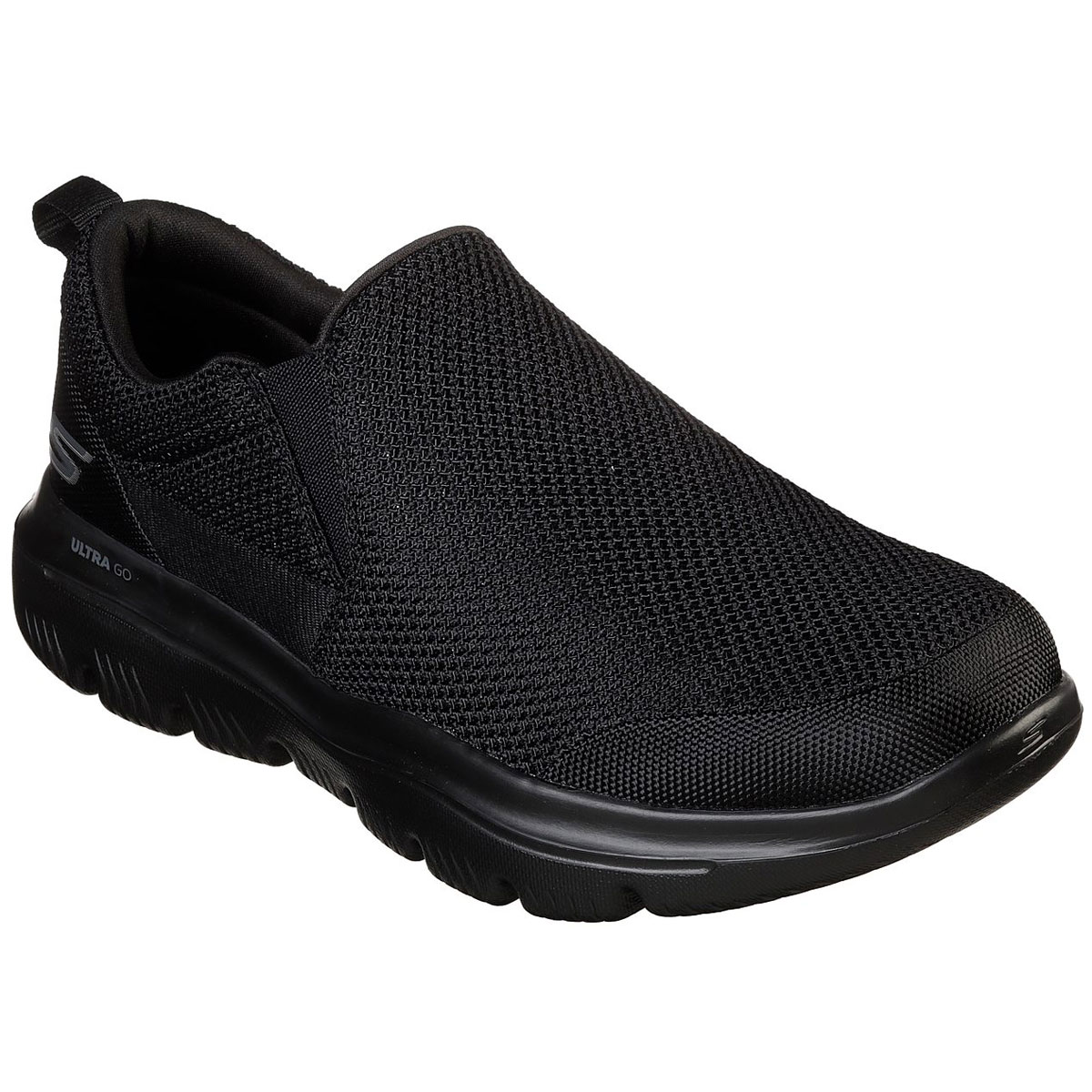 Skechers Men's Gowalk Evolution Ultra Impeccable Slip-On Walking Sneakers - Black, 12