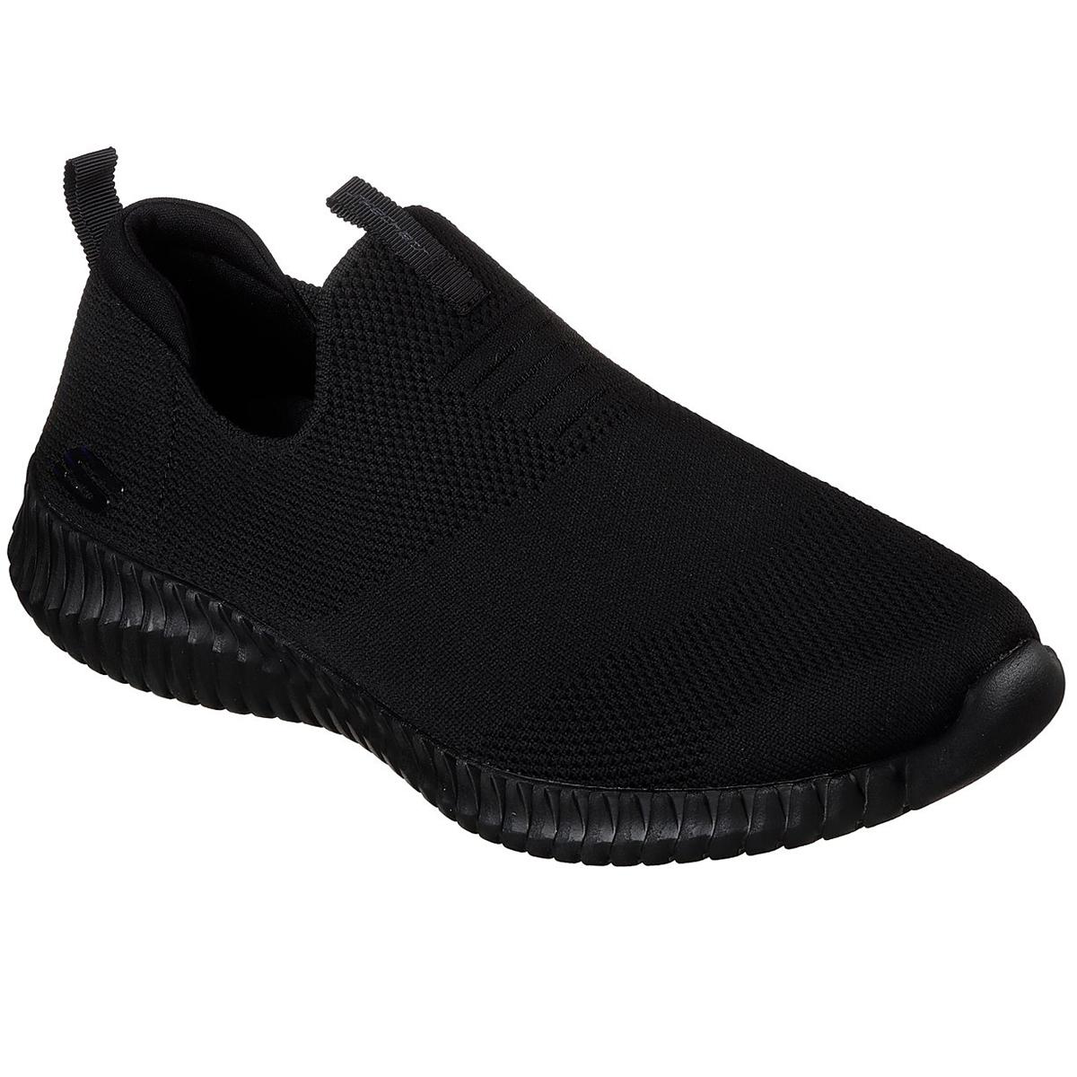 Skechers Men's Elite Flex Wasick Shoes - Black, 10