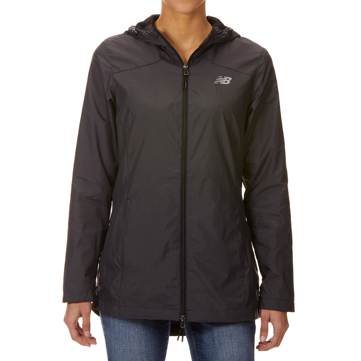North Bay Apparel Women's Cire Hooded Jacket - Black, L