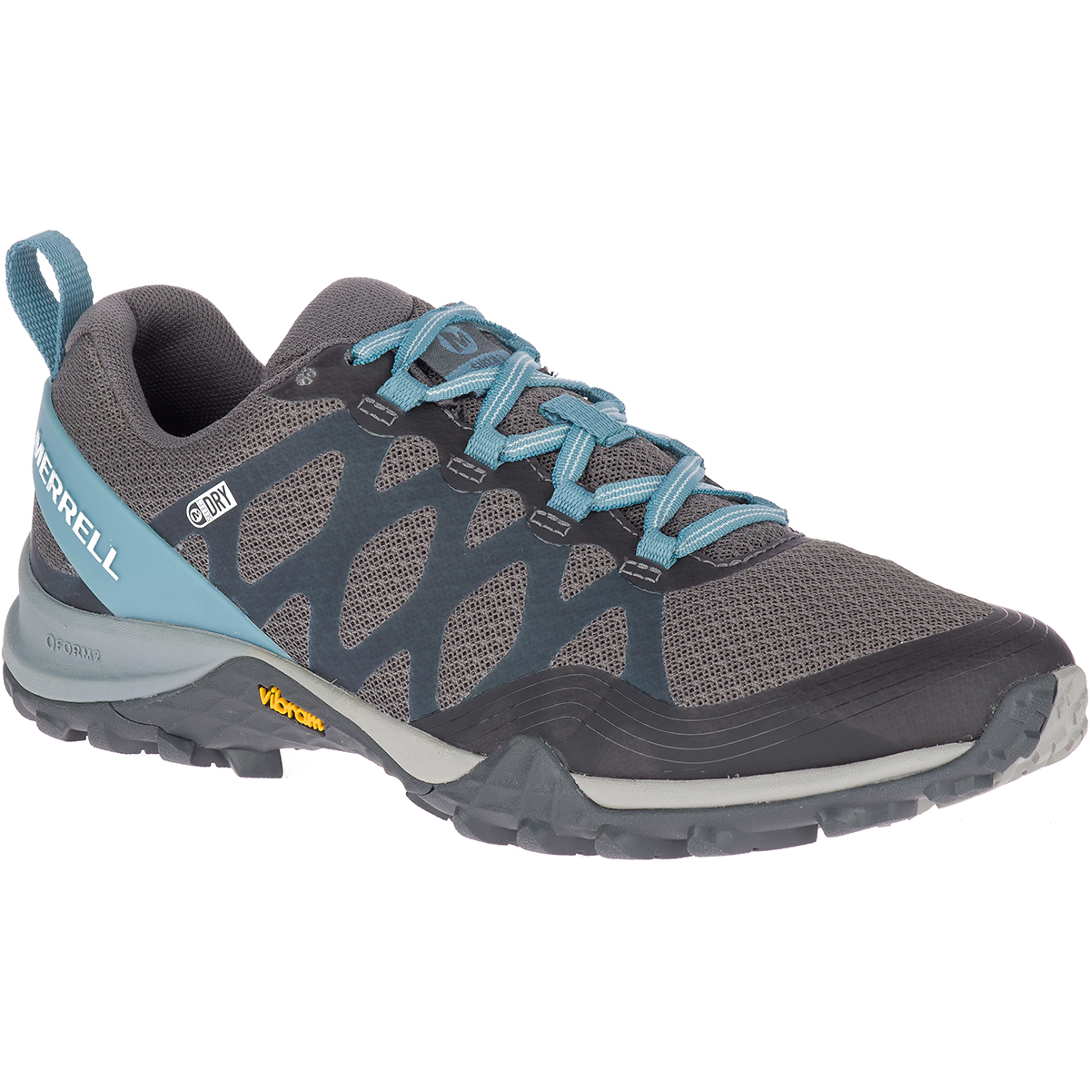 Merrell Women's Siren 3 Waterproof Low Hiking Shoes - Blue, 7.5