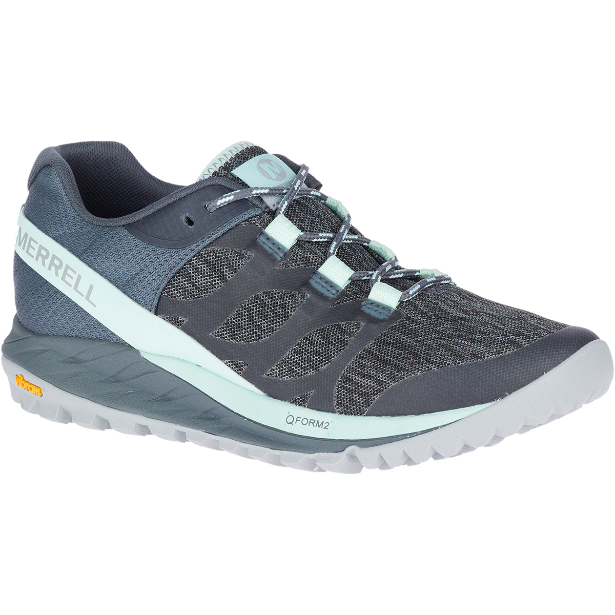 Merrell Women's Antora Trail Running Shoes - Blue, 6