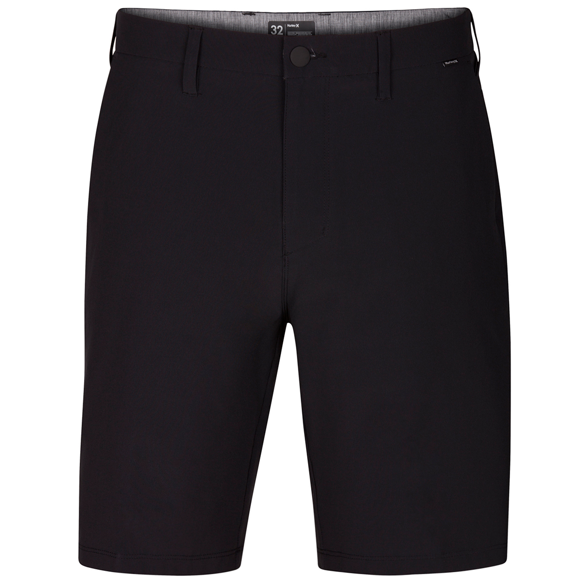 Hurley Men's Phantom Flex Hybrid Walking Shorts - Black, 36
