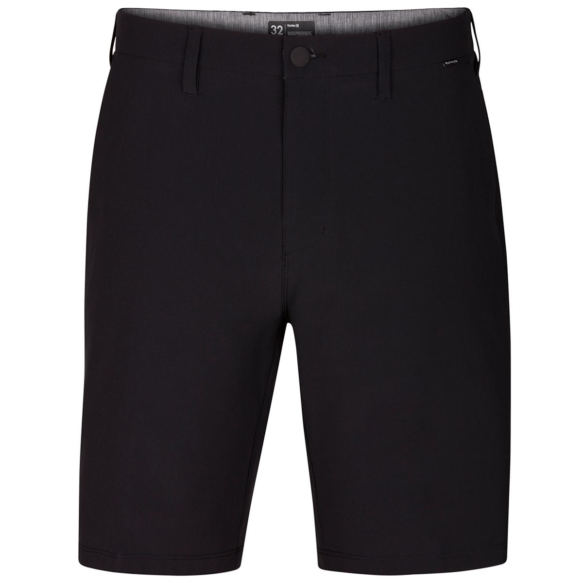 Hurley Men's Phantom Flex Hybrid Walking Shorts - Black, 34