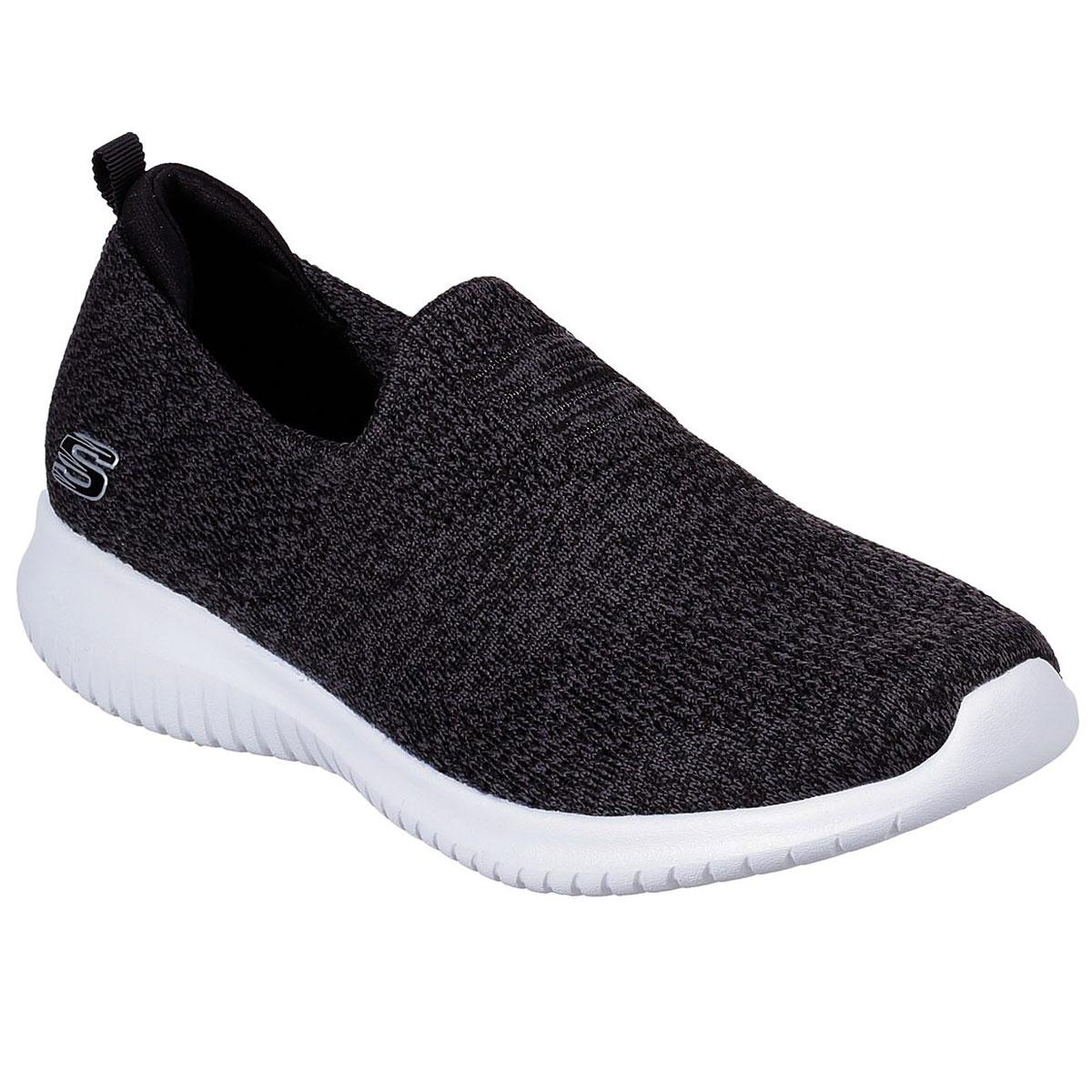 Skechers Women's Ultra Flex Harmonious Shoes - Black, 9.5