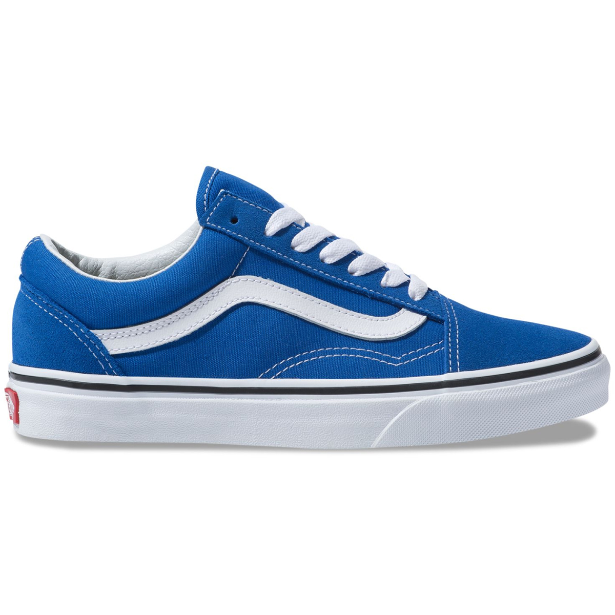 Vans Unisex Old Skool Sneakers - Blue, 8