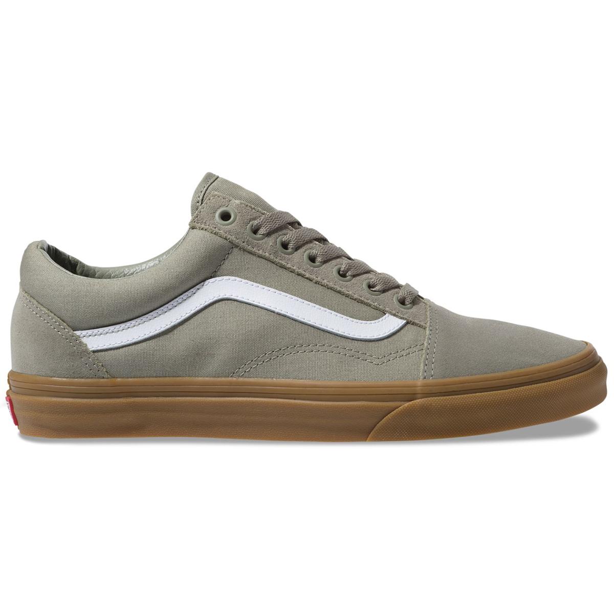 Vans Men's Old Skool Sneakers - Green, 12