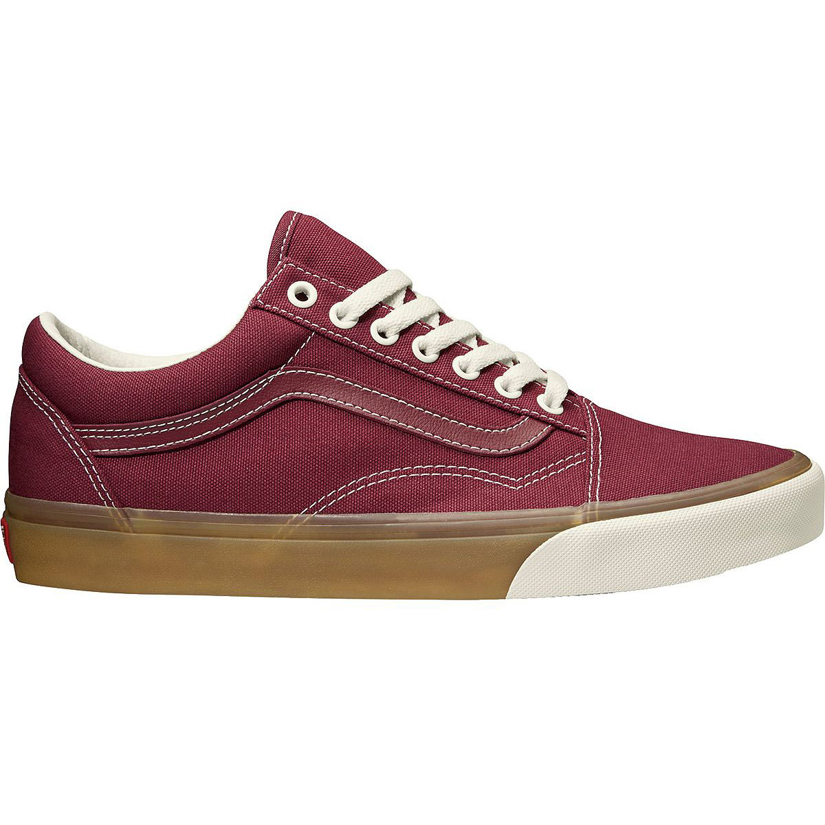 Vans Old Skool Gum Pop Shoes - Red, 12