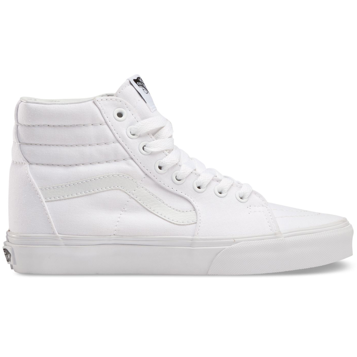 Vans Men's Sk8-Hi Shoes - White, 10