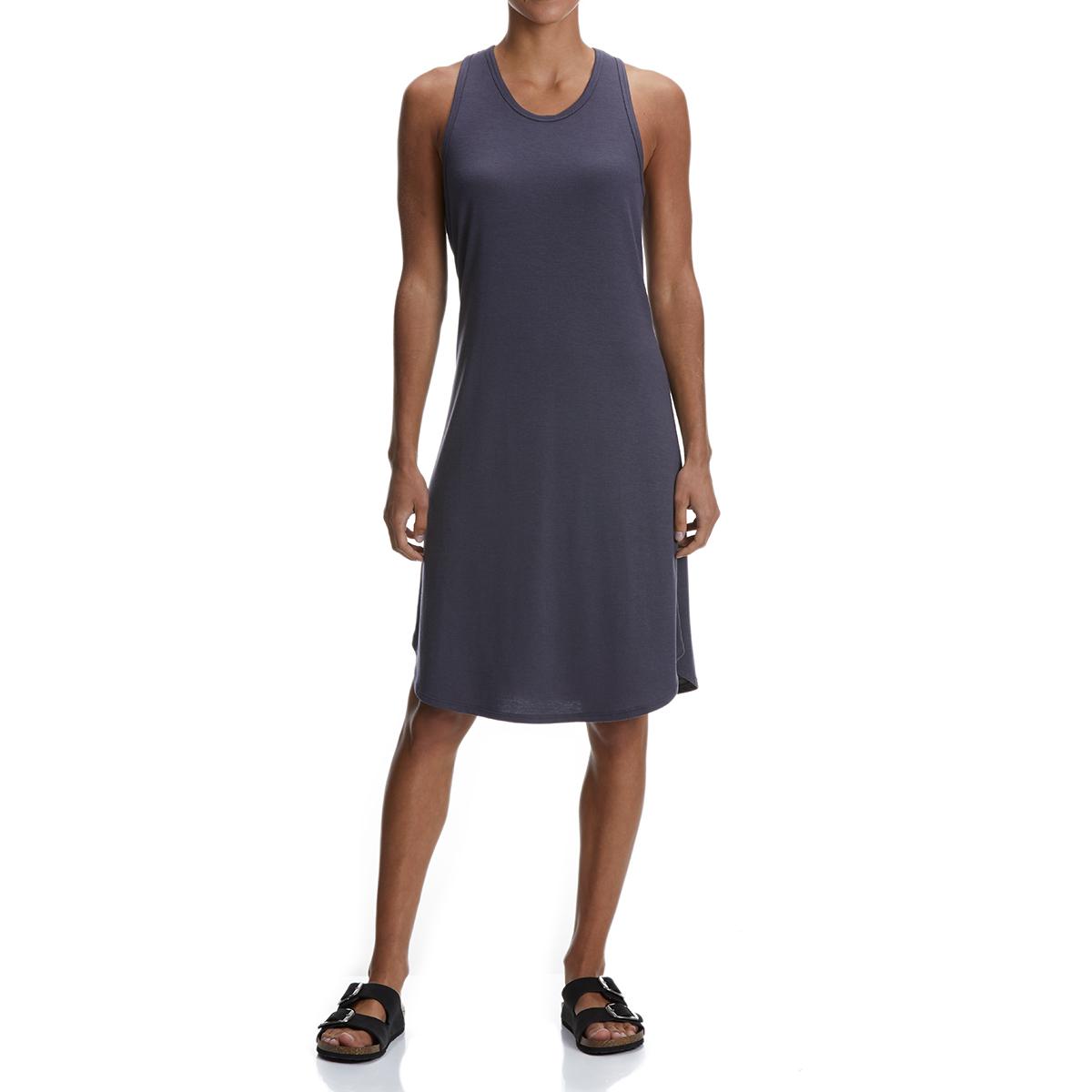 Ems Women's Highland Twist Back Dress - Black, L