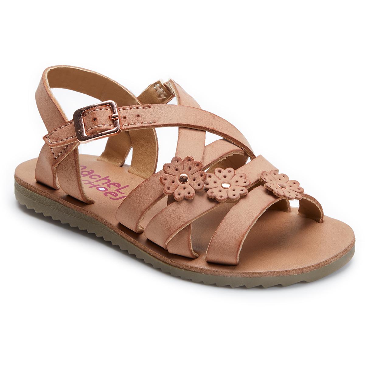 Rachel Shoes Toddler Girls' Lil Aubrey Sandal - Red, 7