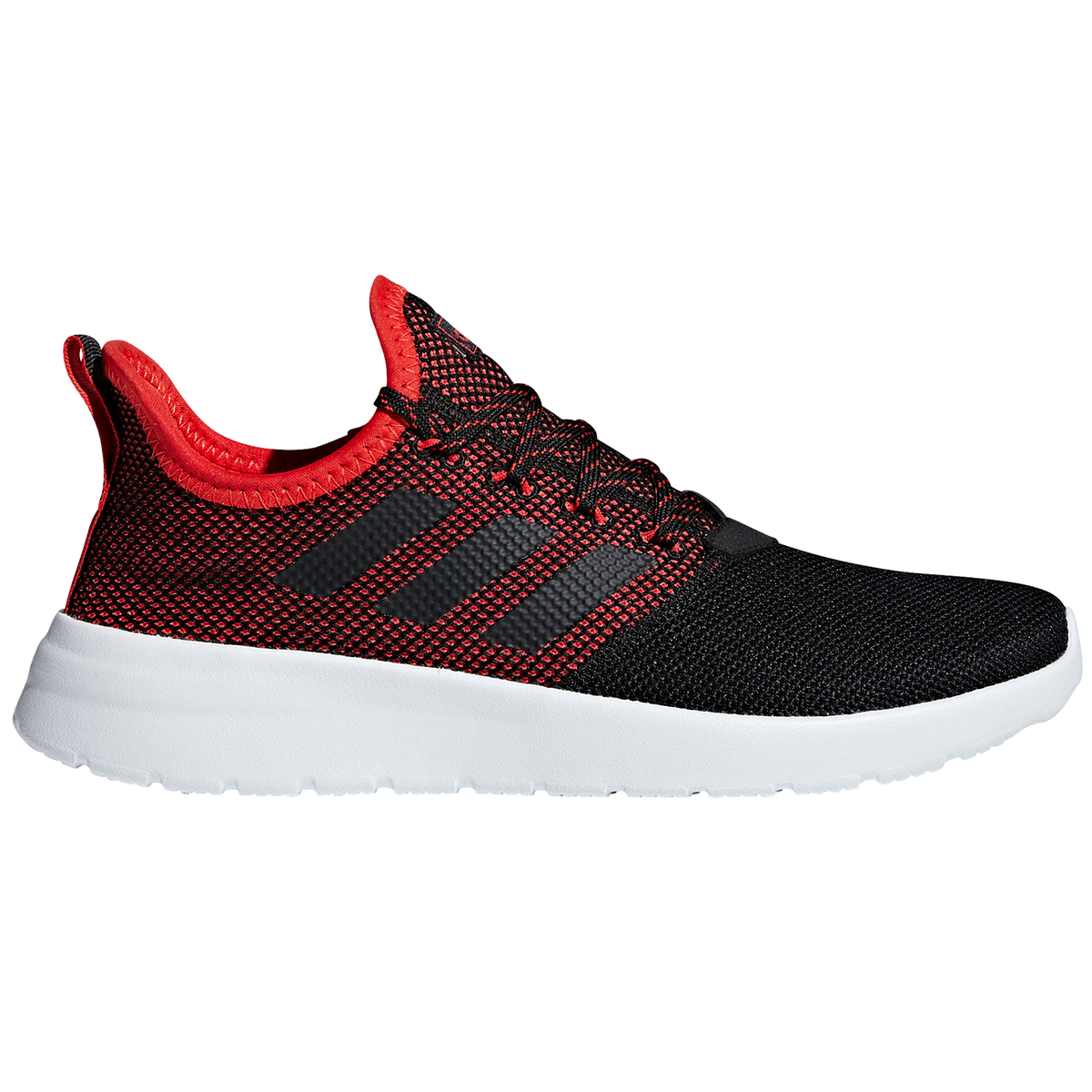 Adidas Men's Lite Racer Reborn Sneakers - Black, 10.5