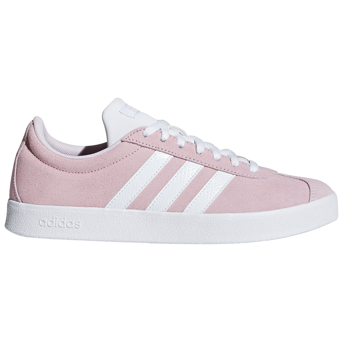 Adidas Women's Vl Court 2.0 Sneakers - Red, 10