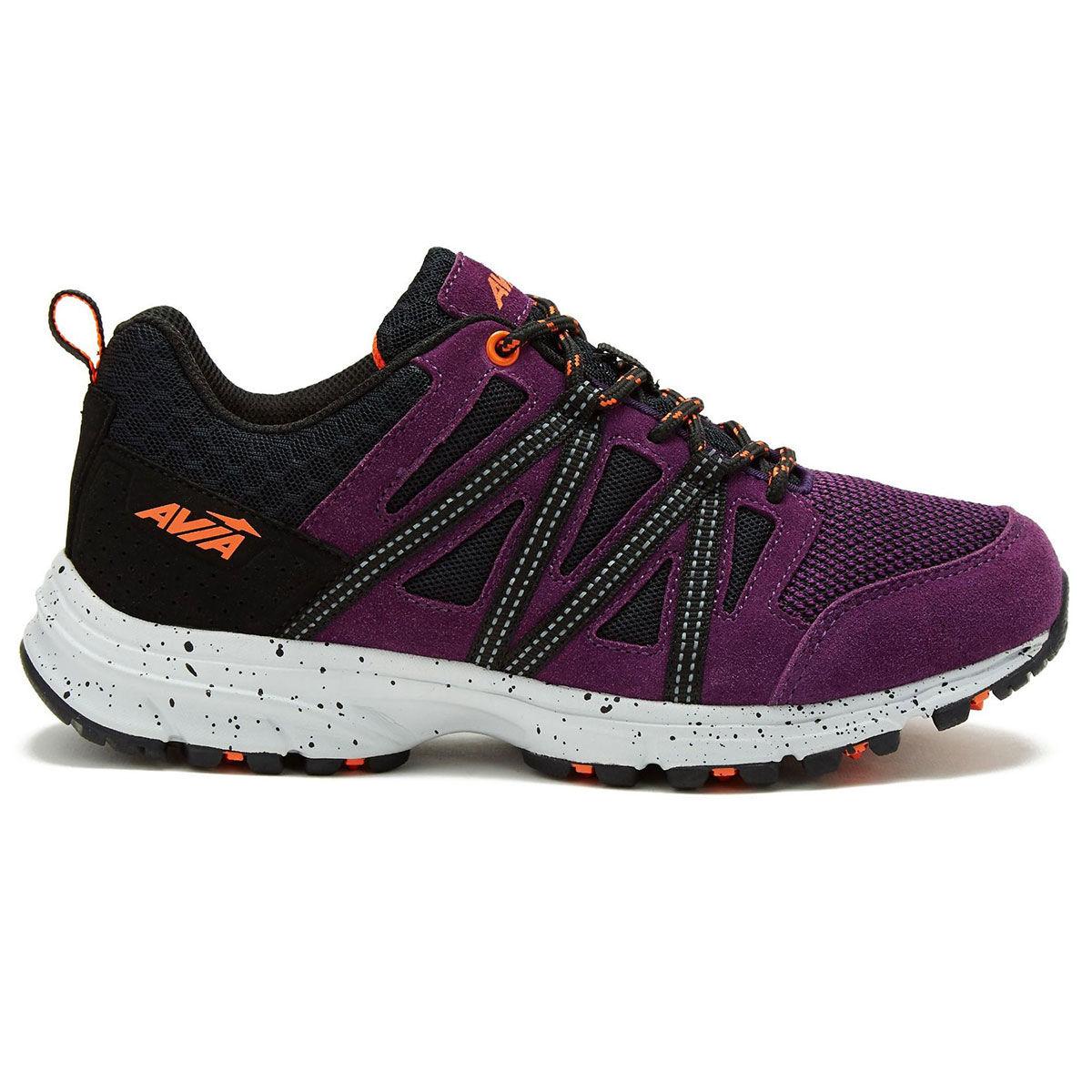 Avia Women's Avi-Vertex Walking Shoes - Purple, 8