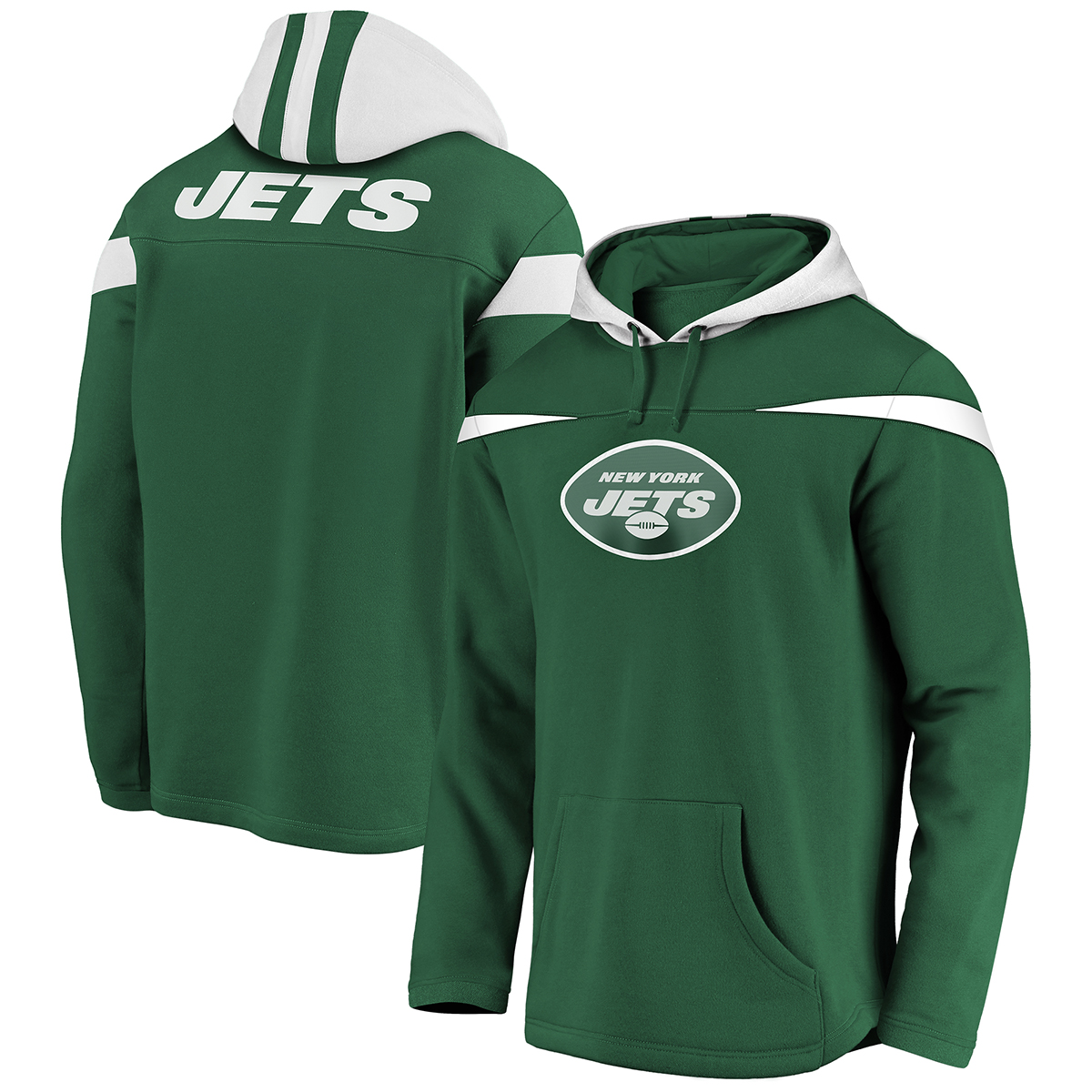 Jets Men's Red Zone Pullover Hoodie