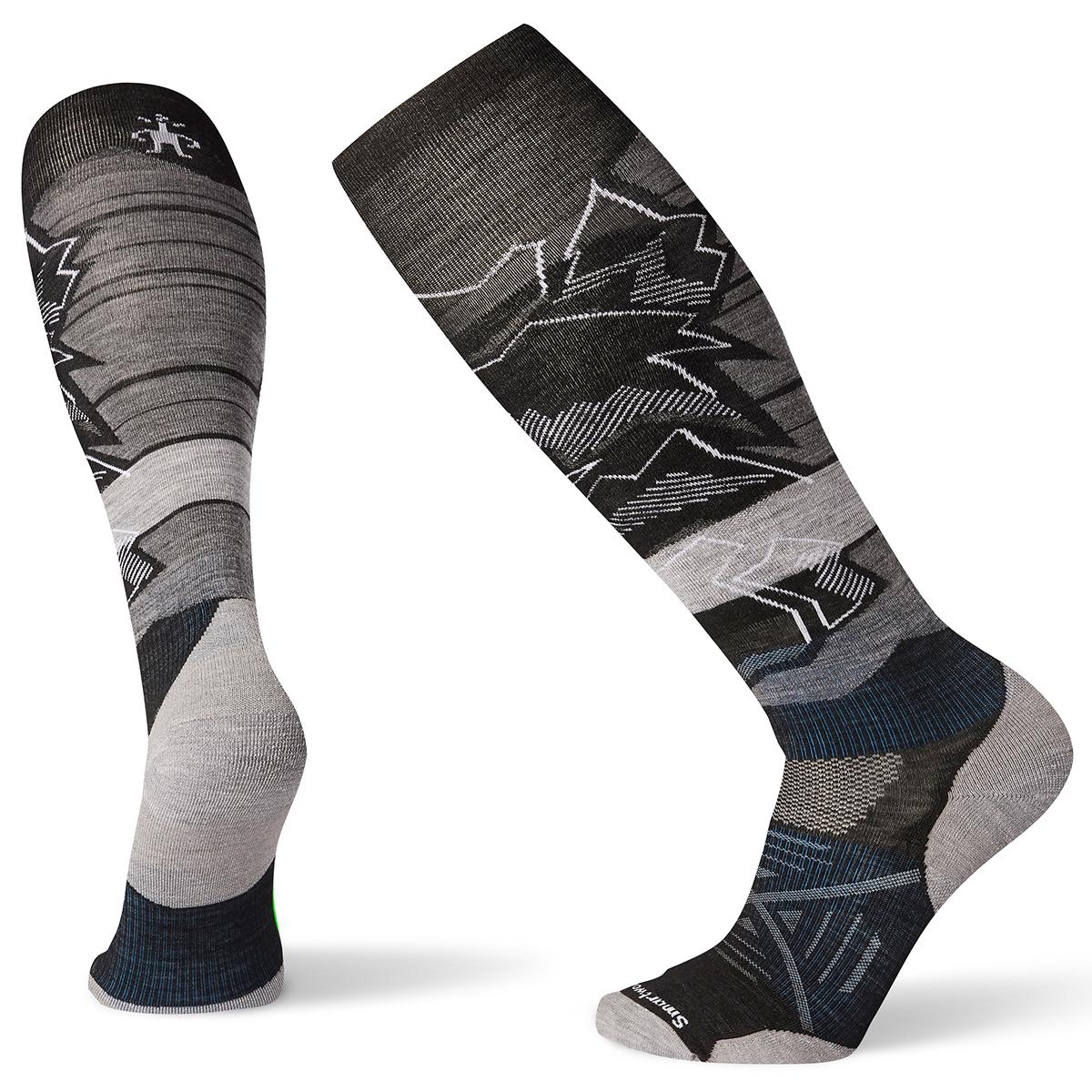 Smartwool Men's Phd Ski Light Elite Knee High Socks - Black, L