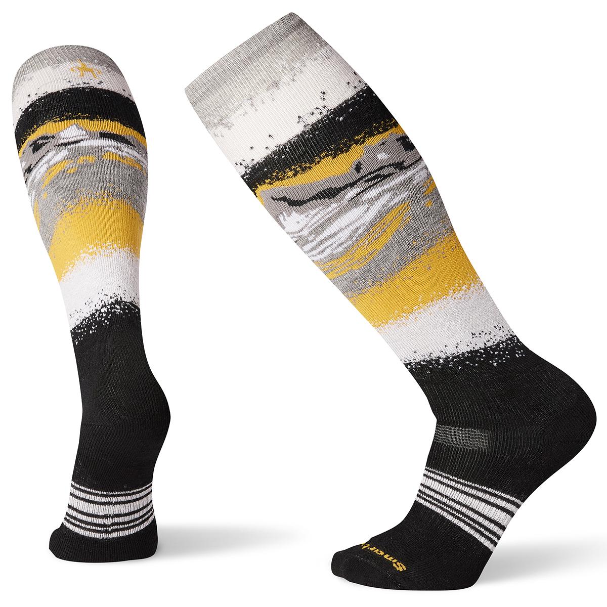 Smartwool Men's Phd Snow Medium Socks - Black, L
