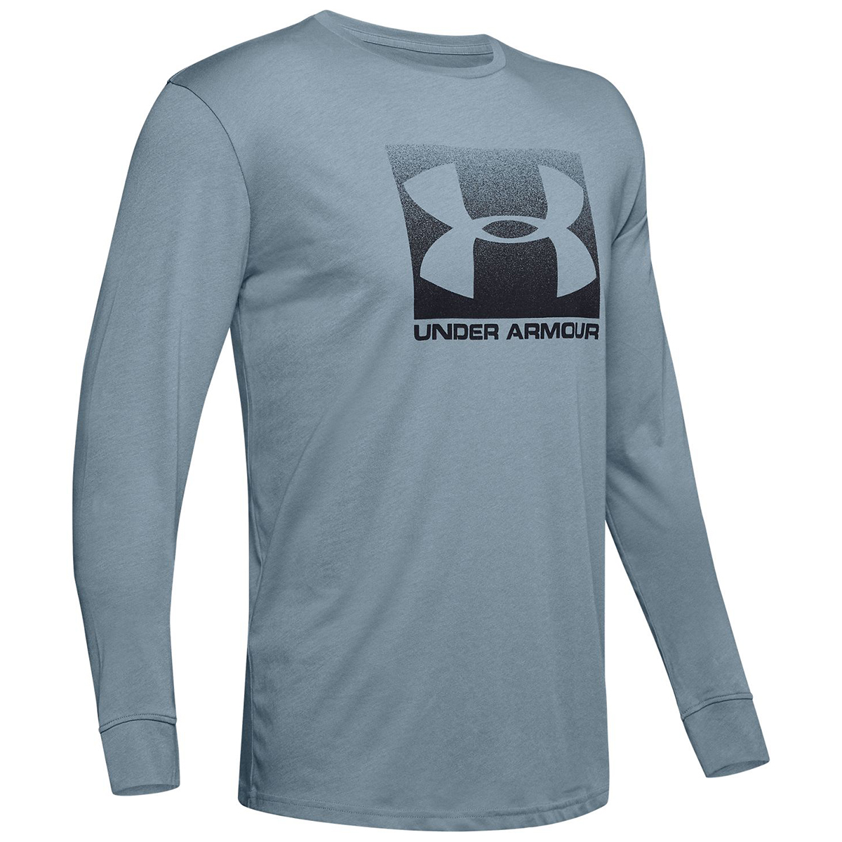 Under Armour Men's  Ua Sportstyle Boxed Long-Sleeve Tee - Black, S