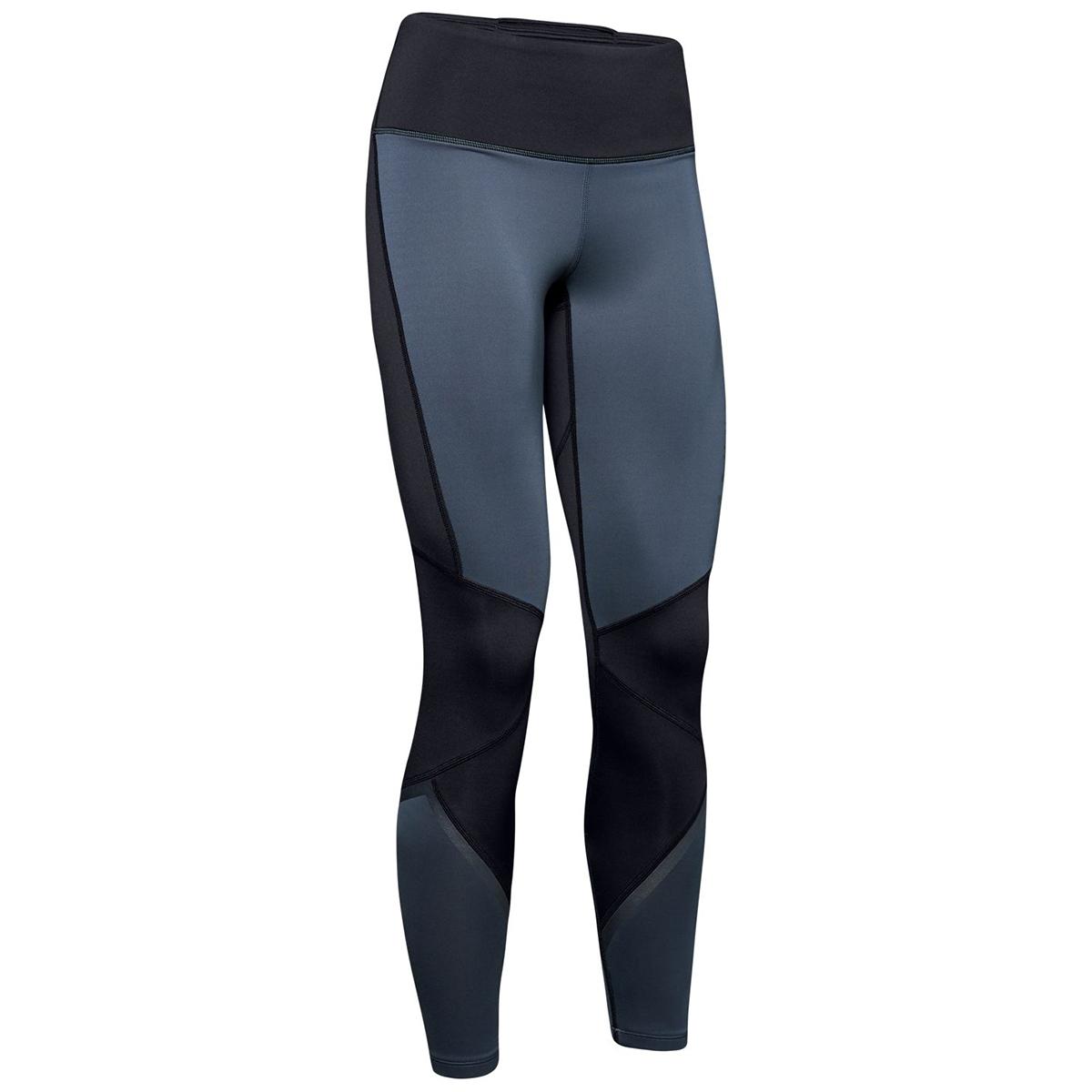 Under Armour Women's Coldgear Armour Hi-Rise Graphic Leggings - Black, S