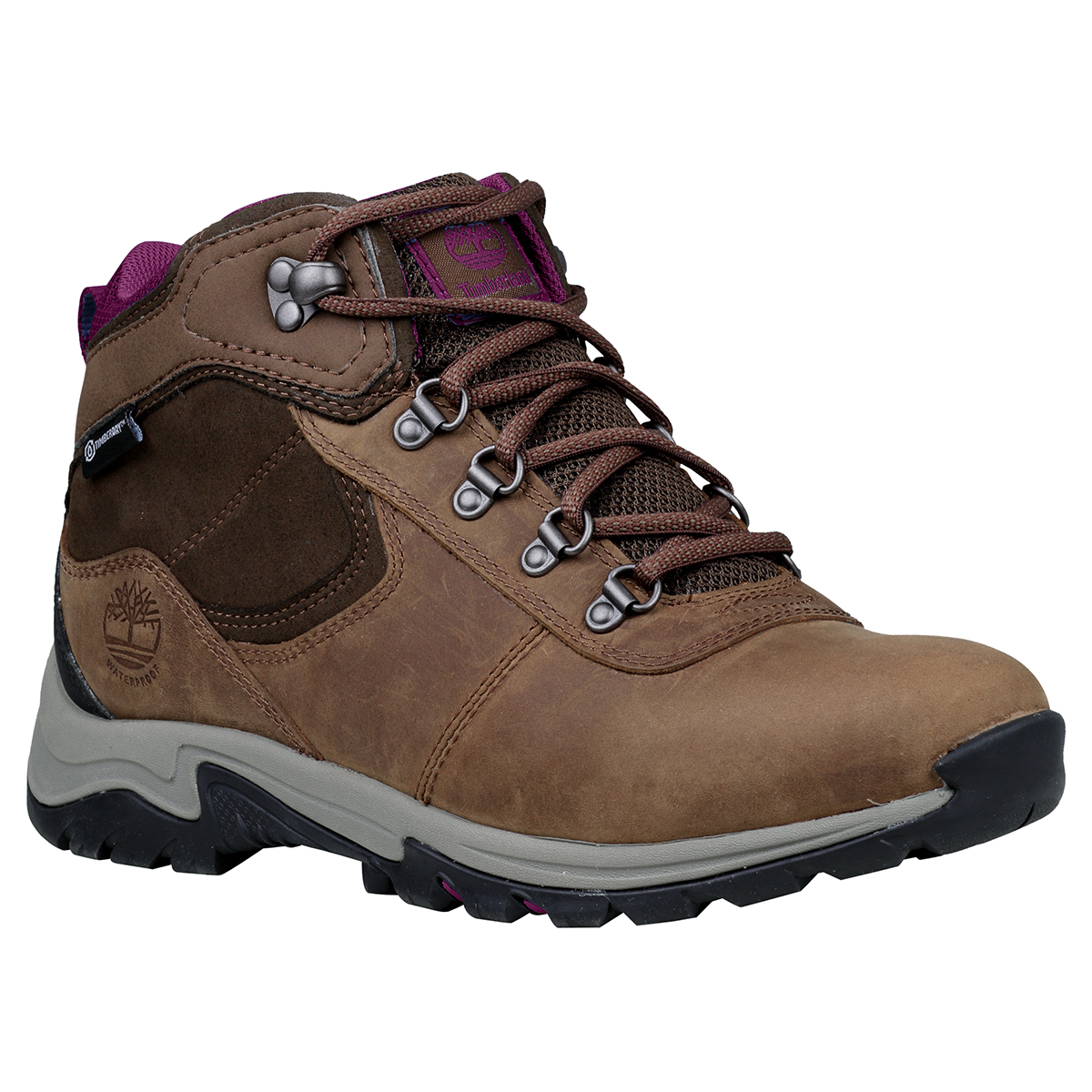 Timberland Women's Mt. Maddsen Mid Waterproof Hiking Boot - Brown, 6.5