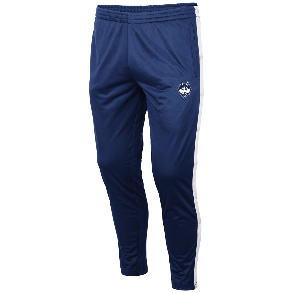 Uconn Men's Disco Stu Track Pants - Blue, M