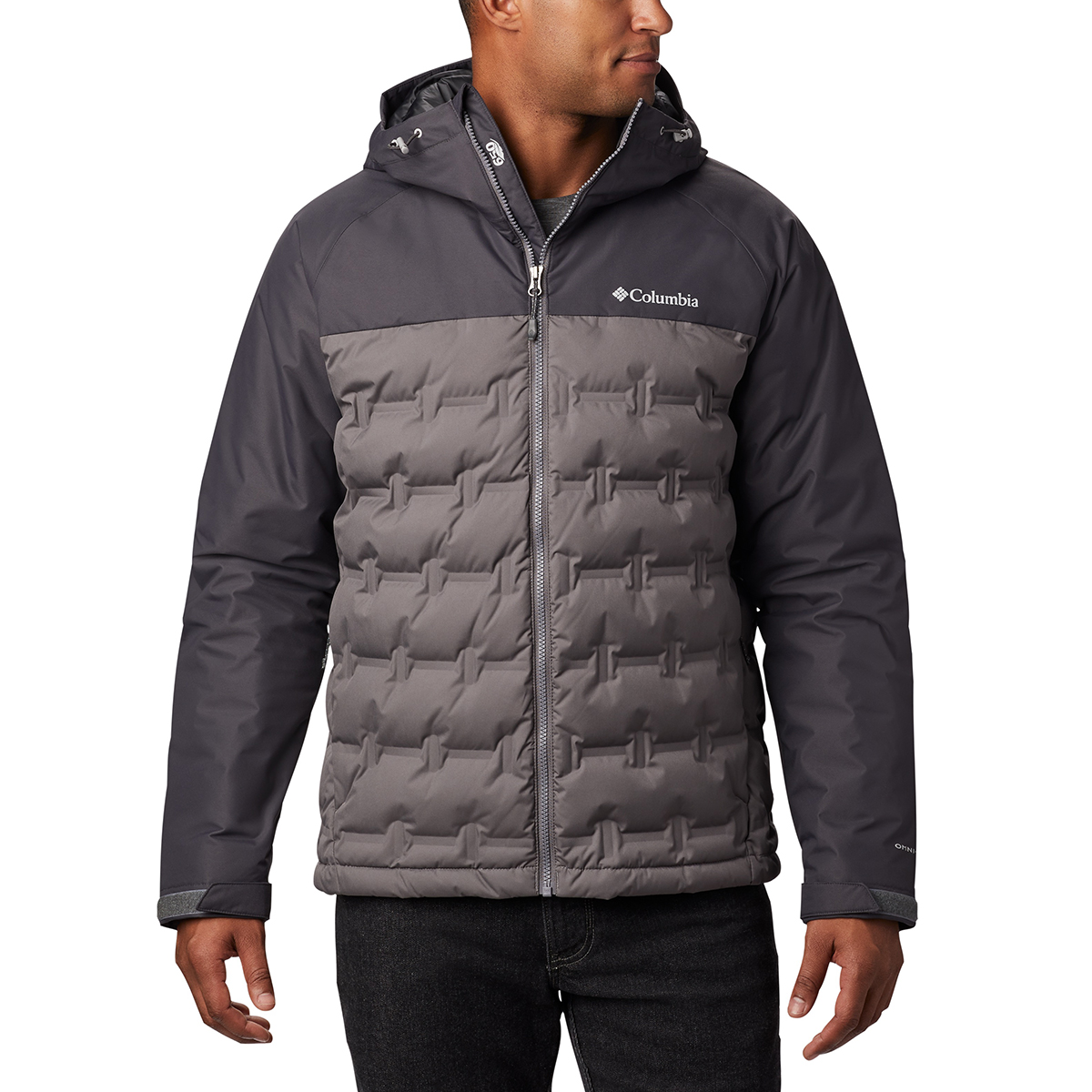 Columbia Men's Grand Trek Down Jacket - Black, S