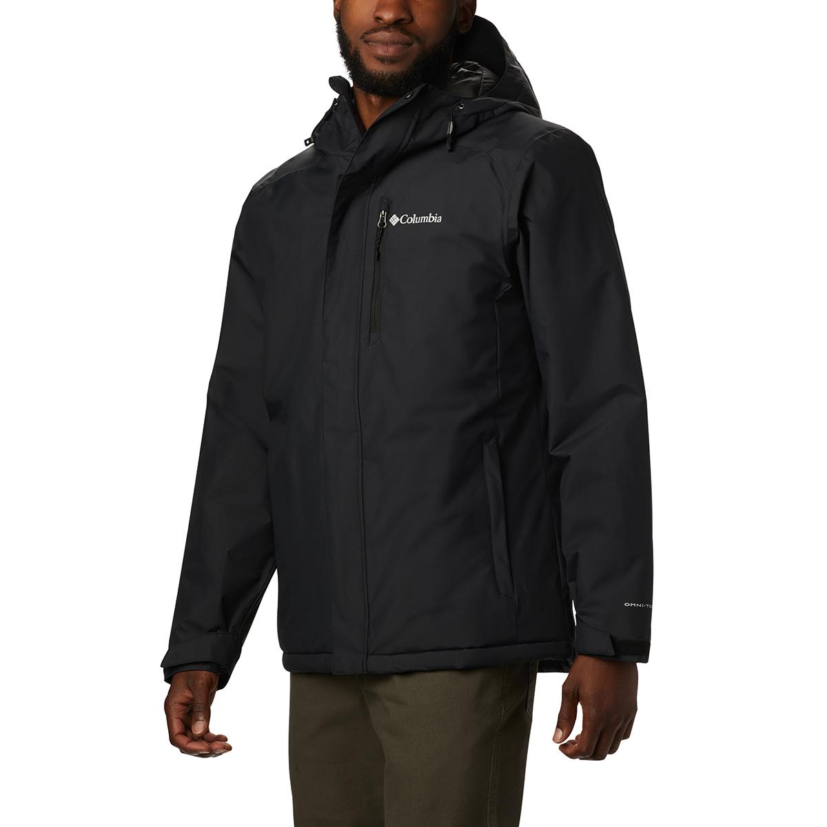 Columbia Men's Tipton Peak Insulated Jacket - Black, M