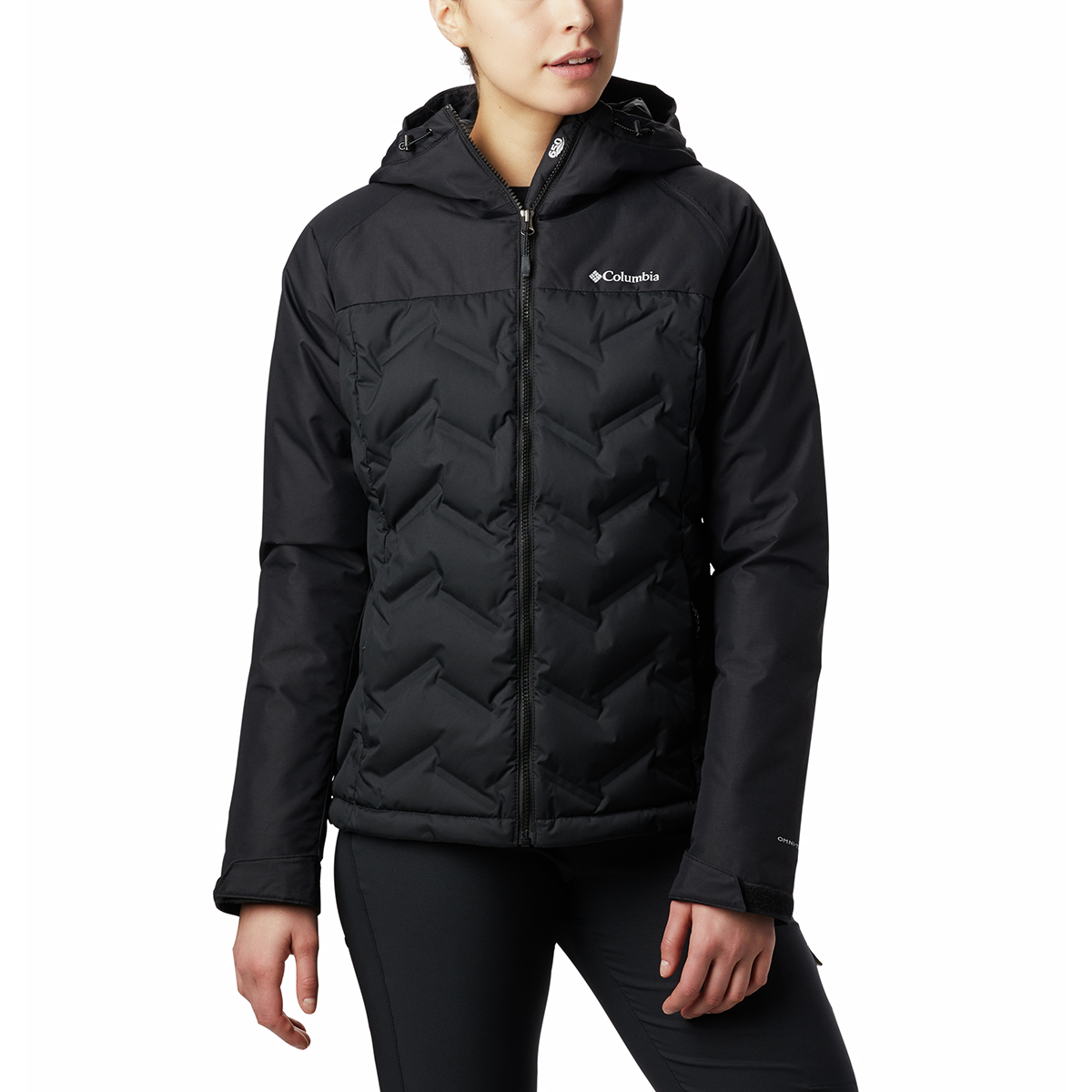 Columbia Women's Grand Trek Down Jacket - Black, S