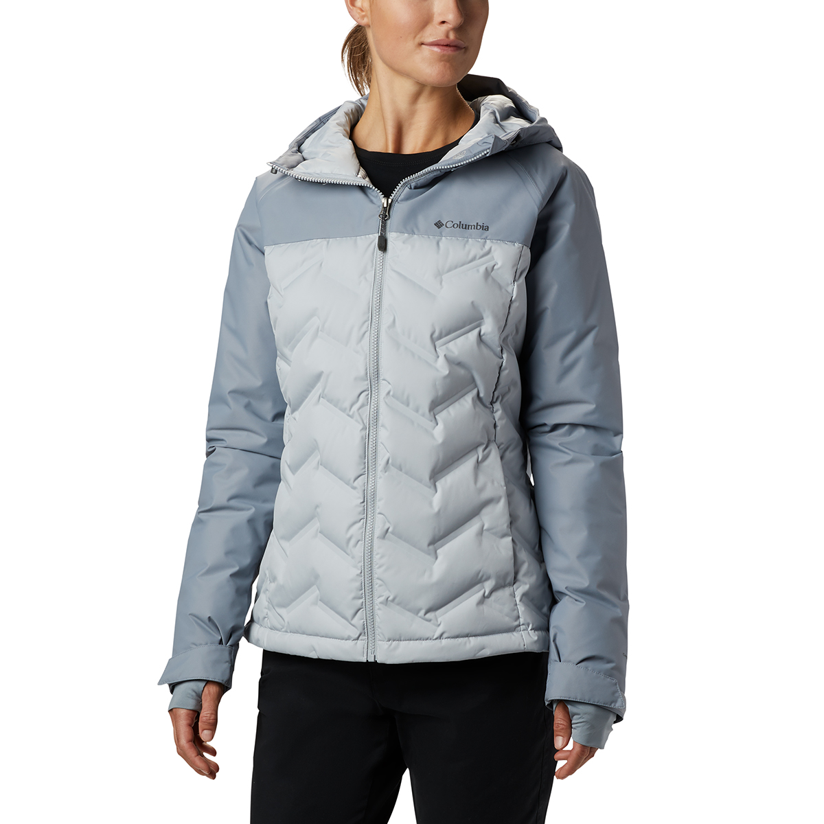 Columbia Women's Grand Trek Down Jacket - White, M