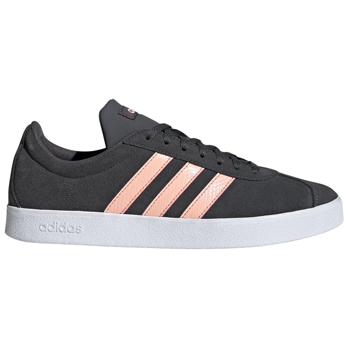 Adidas Women's Vl Court 2.0 Sneakers - Black, 9
