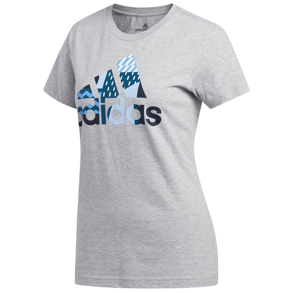 Adidas Women's Global Citizens Badge Of Sport Tee - Black, L