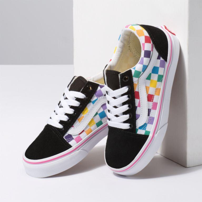 Old Skool Checkerboard Skate Shoe