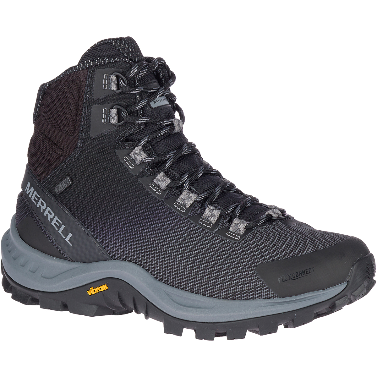 Merrrel Men's Thermo Cross Waterproof Hiking Boot - Black, 10