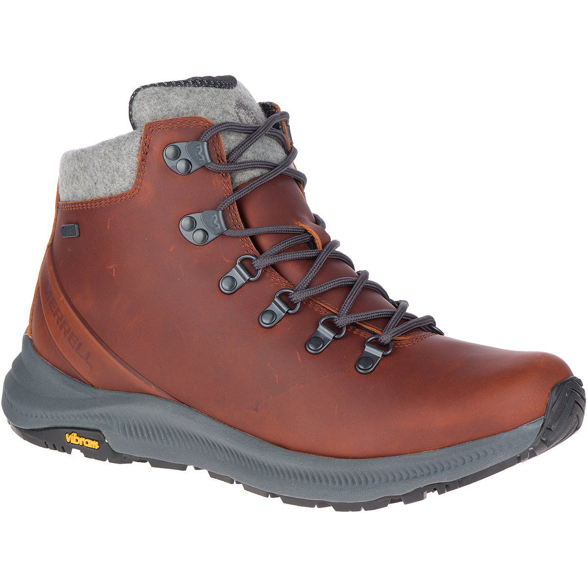 Merrell Men's Ontario Thermo Waterproof Hiking Boot - Brown, 9