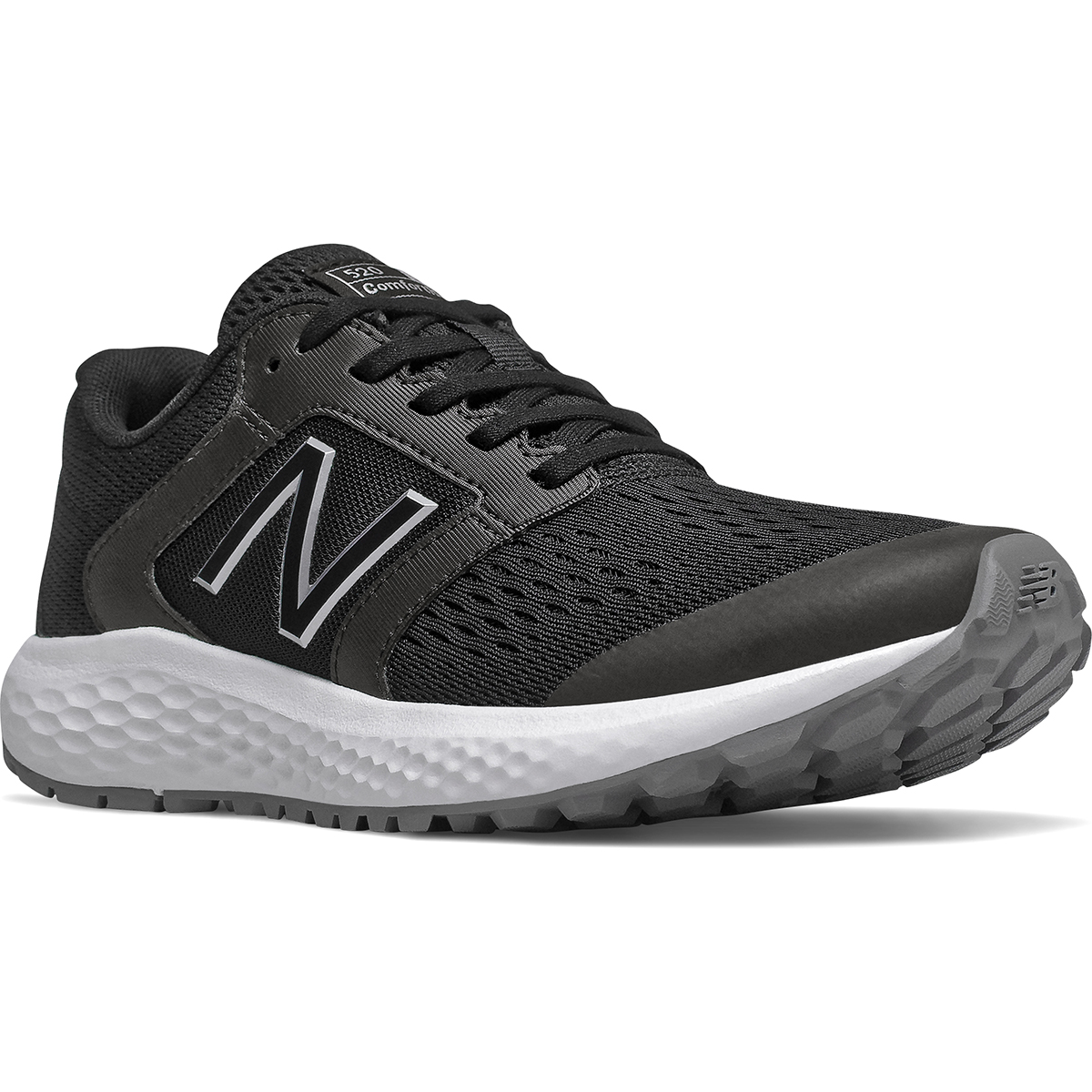 New Balance Women's 520 V5 Running Shoe - Black, 8