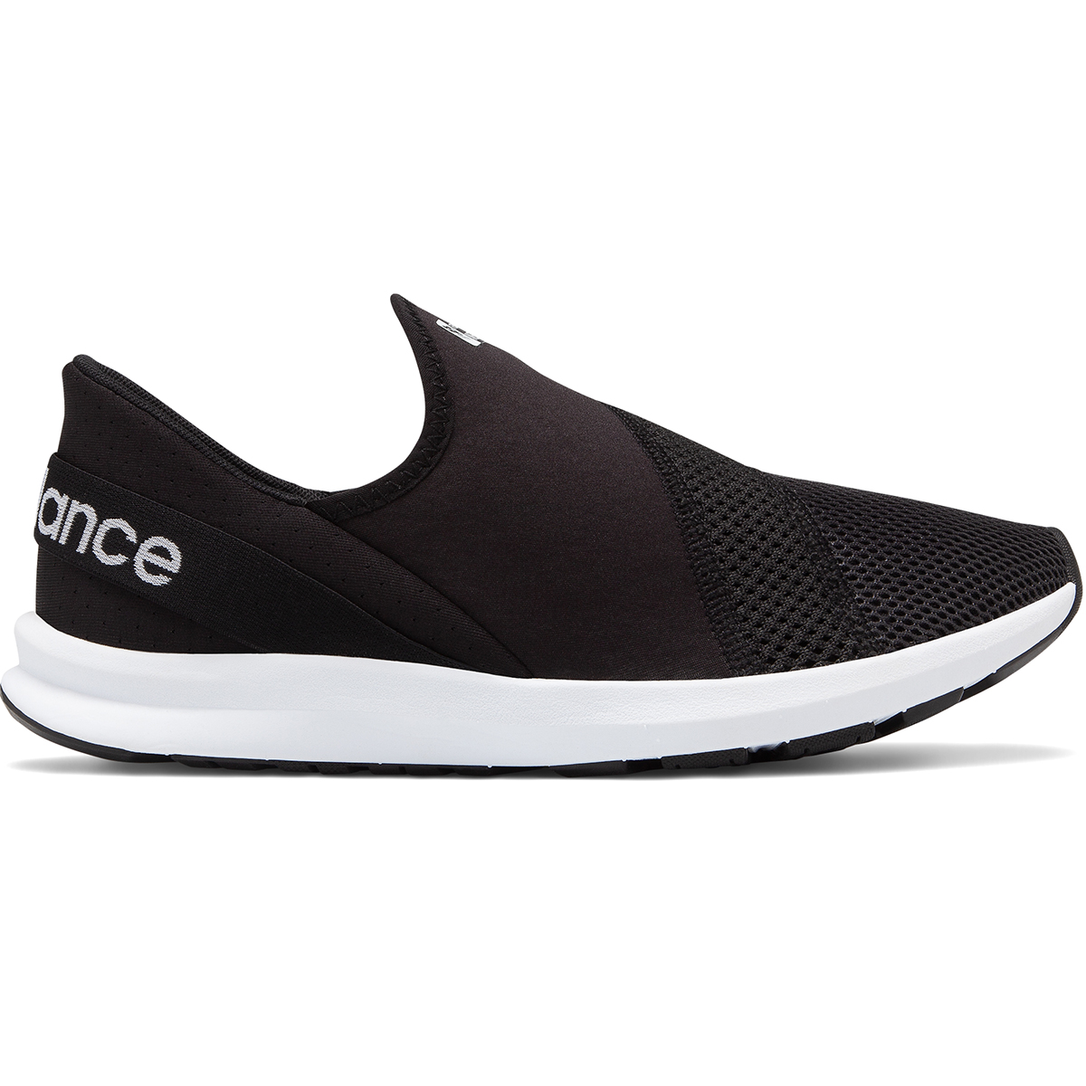 New Balance Women's Fuelcore Nergize Easy Slip-On Shoes - Black, 8.5