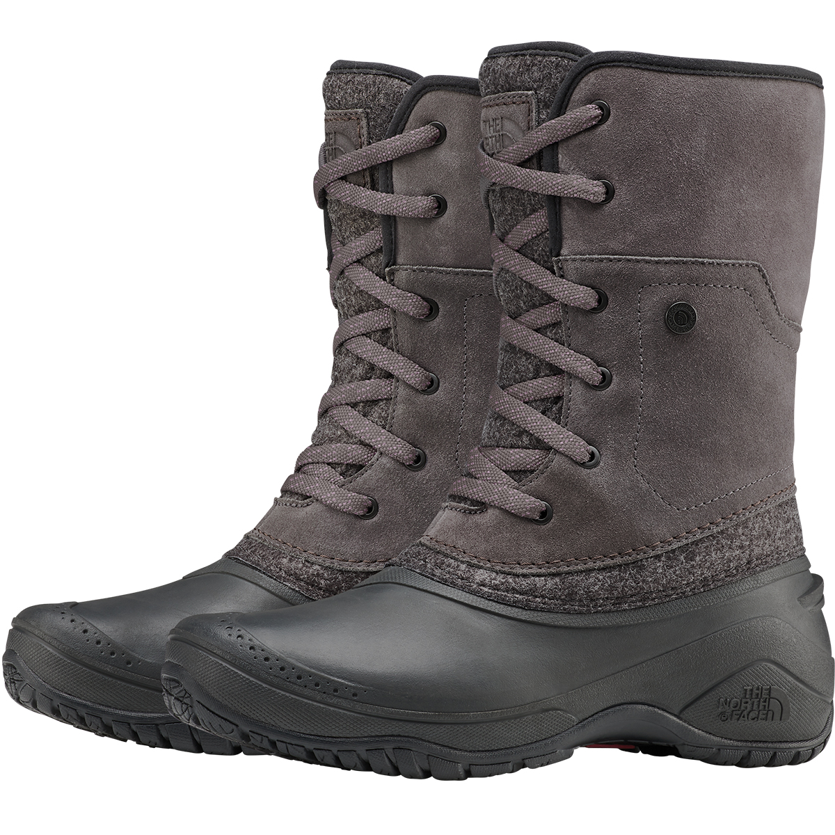 The North Face Women's Shellista 2 Roll-Down Boots - Black, 10