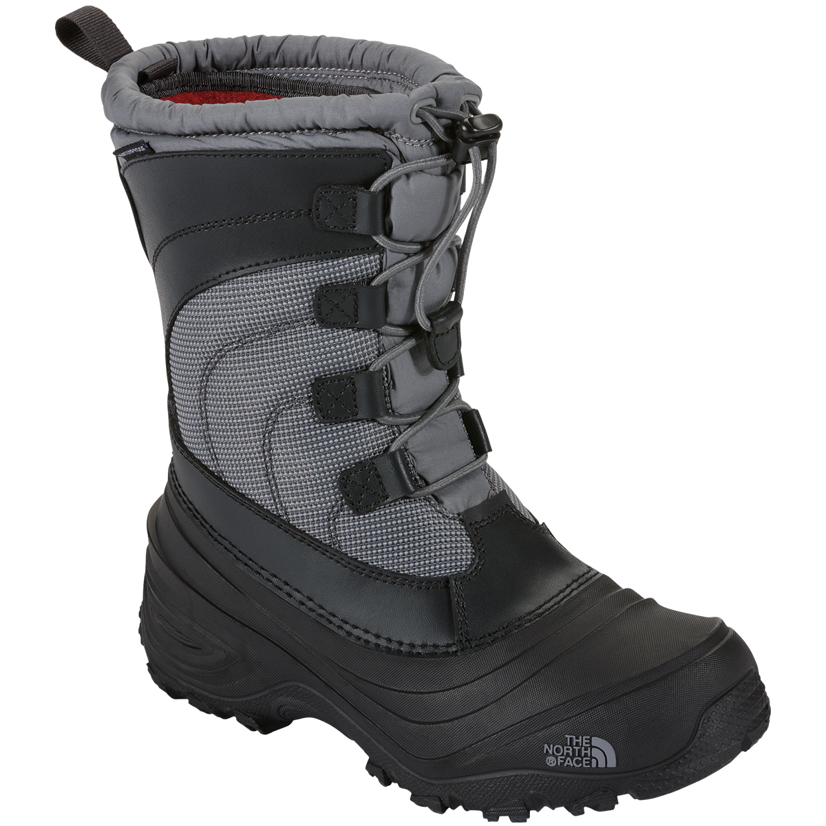 The North Face Kids' Alpenglow Iv Winter Boot - Black, 6