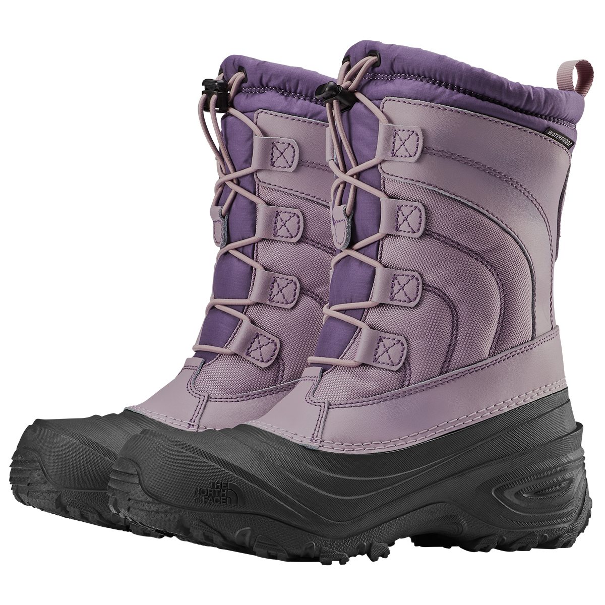 The North Face Kids' Alpenglow Iv Winter Boot - Purple, 6
