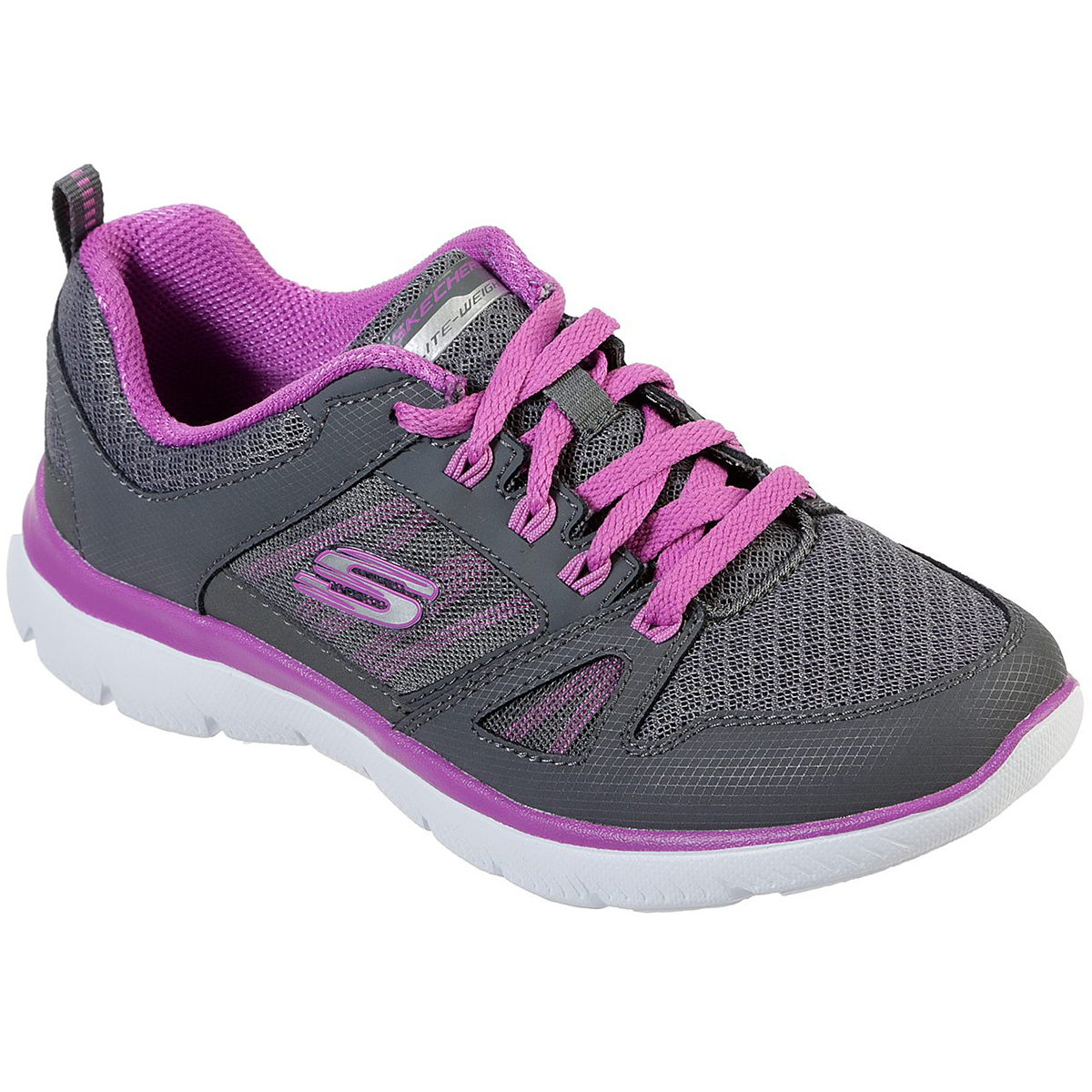 Skechers Women's Summits New World Sneakers - Black, 7.5