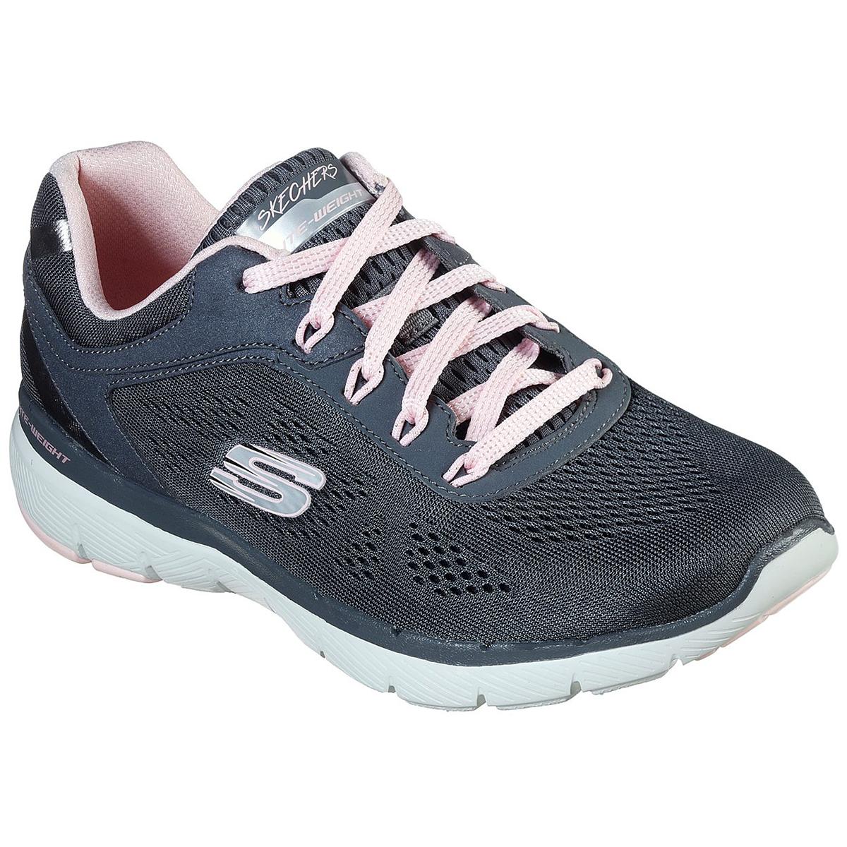 Skechers Women's Flex Appeal 3.0 Sneakers - Black, 8.5